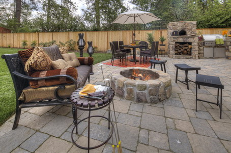 backyard bbq design - Patio Bbq Designs