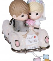 Wedding Car Cake Topper