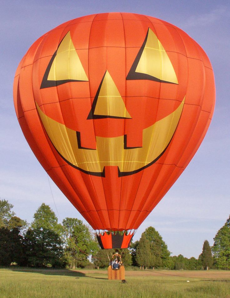 Pumpkin Head Balloon