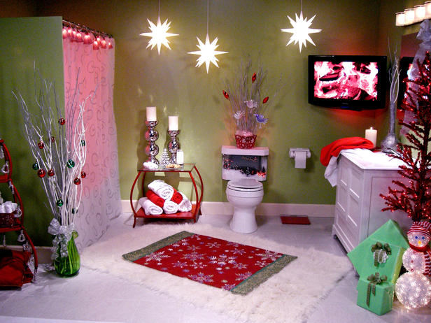 bathroom decorating ideas for christmas | how ornament my eden