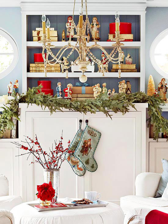 Small Spaces Holiday Decorating Ideas  How Ornament My Eden ~ 085639_Christmas Decoration Ideas For Office Windows