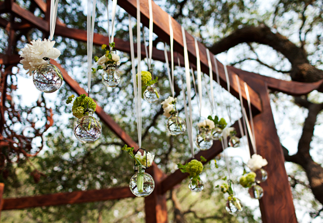 Hanging Glass Vase Decorative Ideas At Your Wedding