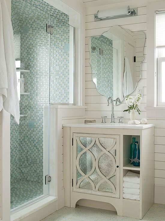 design ideas to make the most of a small bathroom how