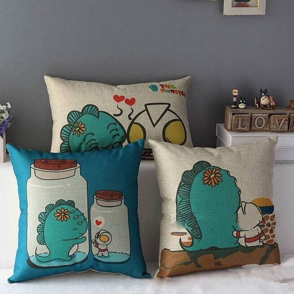 monster pillow case