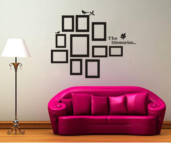 Blank walls solutions of your house how ornament my eden for Home frames wall art