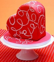 heart shaped cake mold