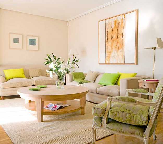 Some Elegant Home Details Brighten Your Living Room