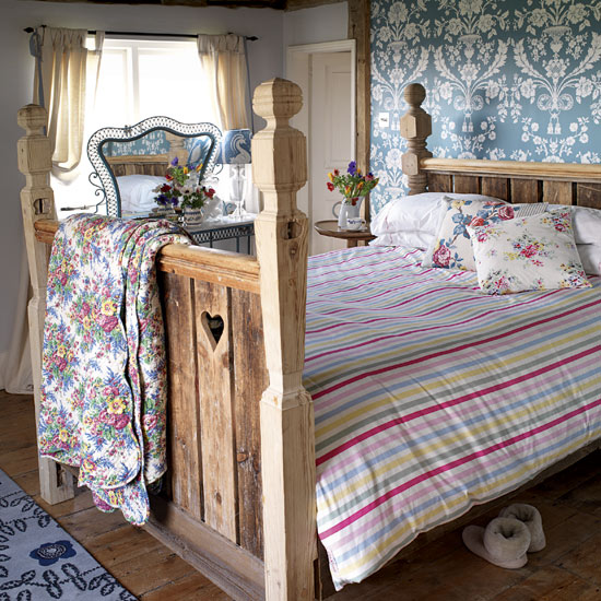 Country style bedroom for spring how ornament my eden - Country style bedroom ...