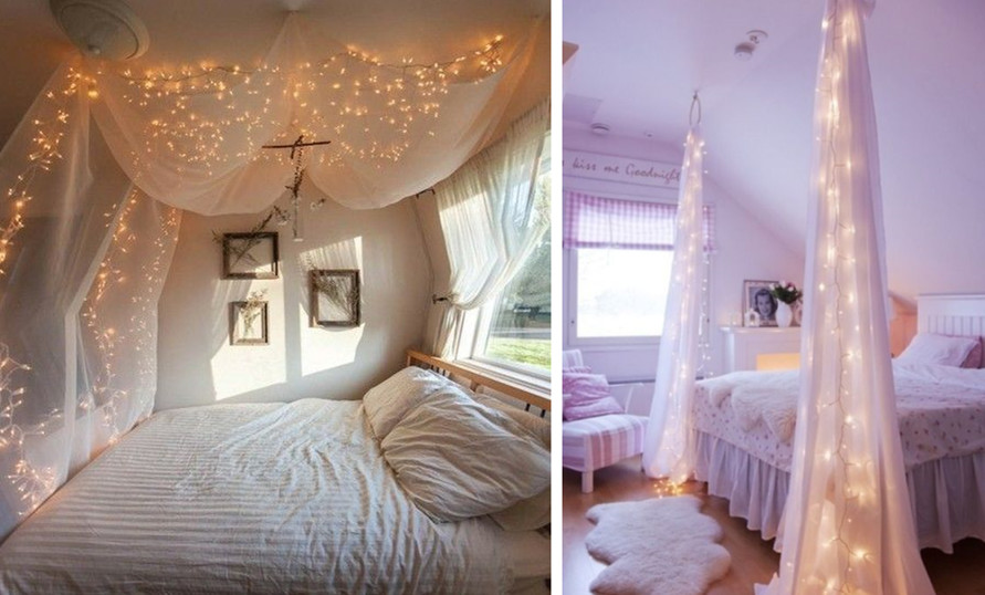Mosquito net home design ideas how ornament my eden for Bed decoration with net