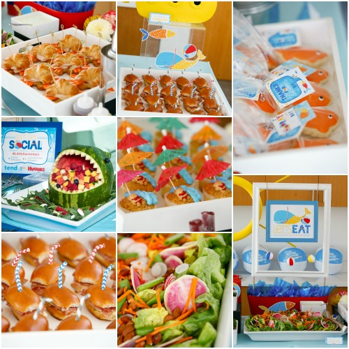 How to plan a summer pool party how ornament my eden for Pool and food