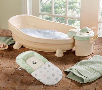 after that start to set up the tub it is necessary for you to invest a baby tub it is specially decided for babies which can efficiently prevent babies