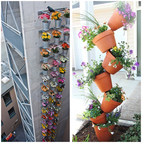 Unique and Space-Saving Hanging Garden Decorations