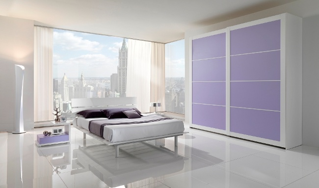 Tips For Minimalist Style Bedroom Inspiration Light Purple Bedrooms Minimalist Decoration