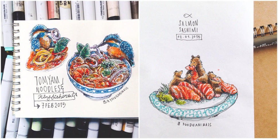 food and animals
