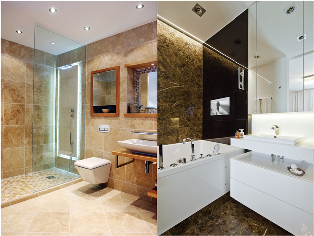 Bathroom design ideas worth stealing from hotel bathroom how ornament my eden for What do hotels use to clean bathrooms