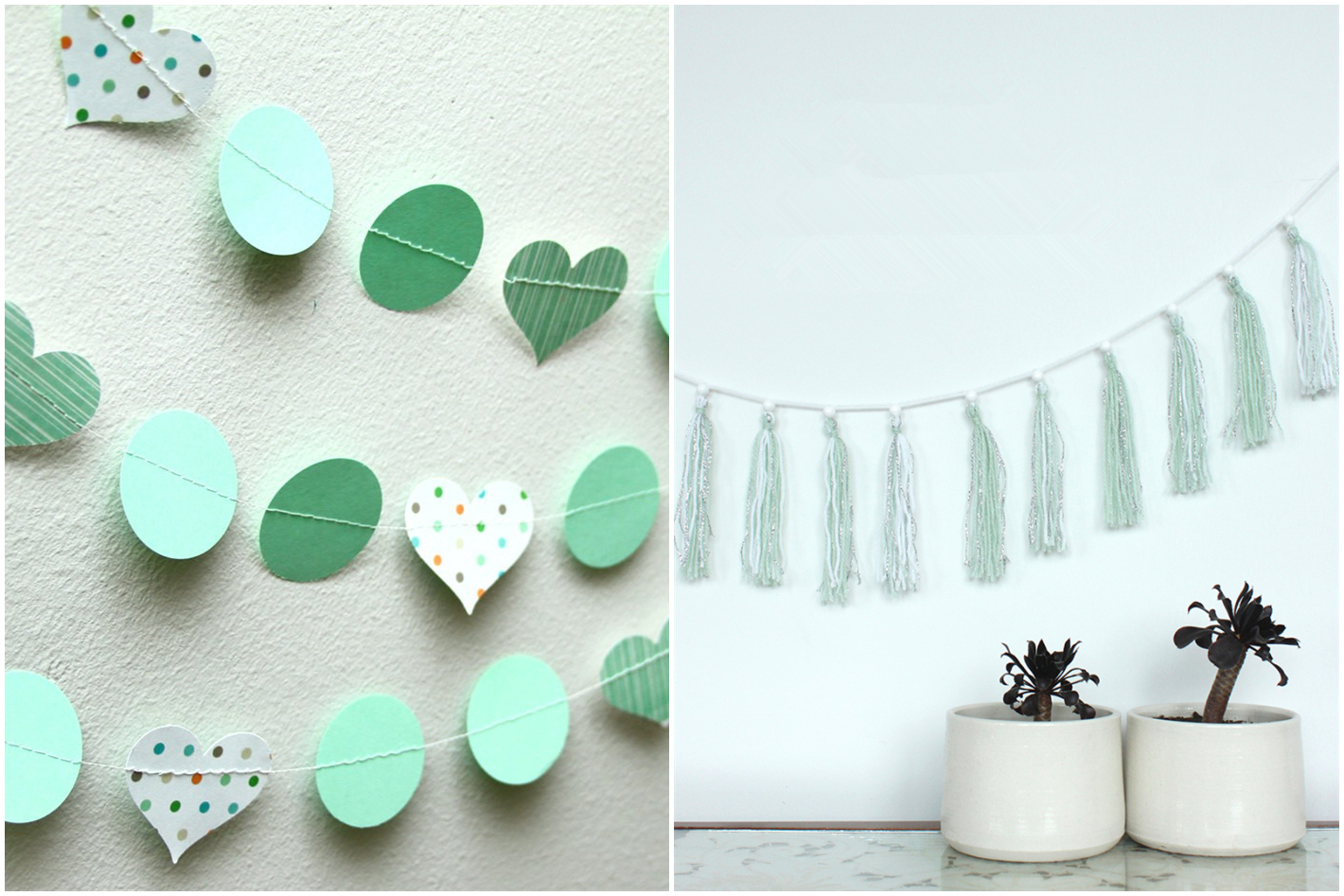 Bring mint green to your bedroom wall how ornament my eden for Mint green home accessories