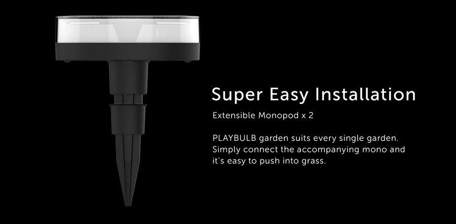 MIPOW PLAYBULB Intelligent Garden Light