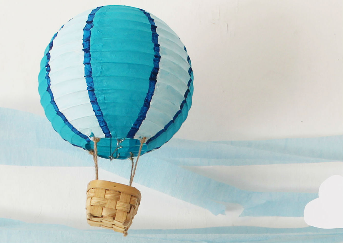 Colorful Hot Air Balloon Decor