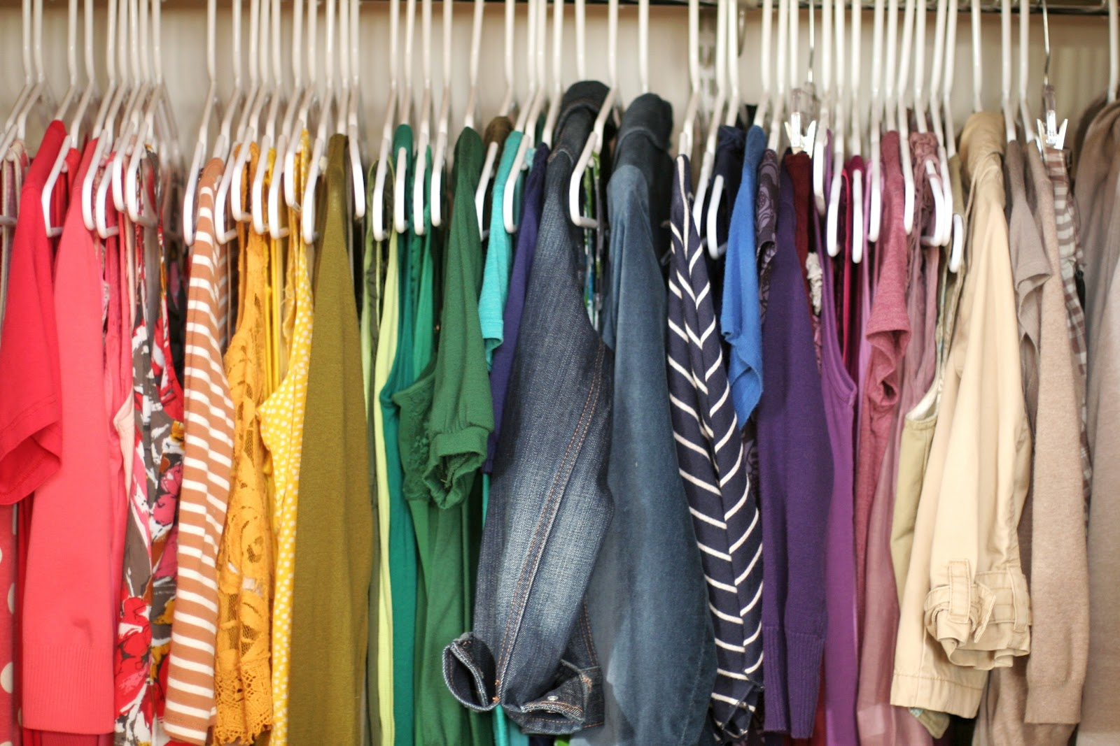 Try to organize your closet and get it right how for How do you organize your closet