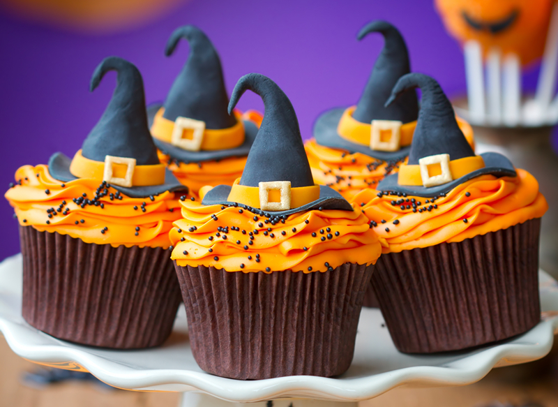 Halloween Cupcake Cake Wrappers