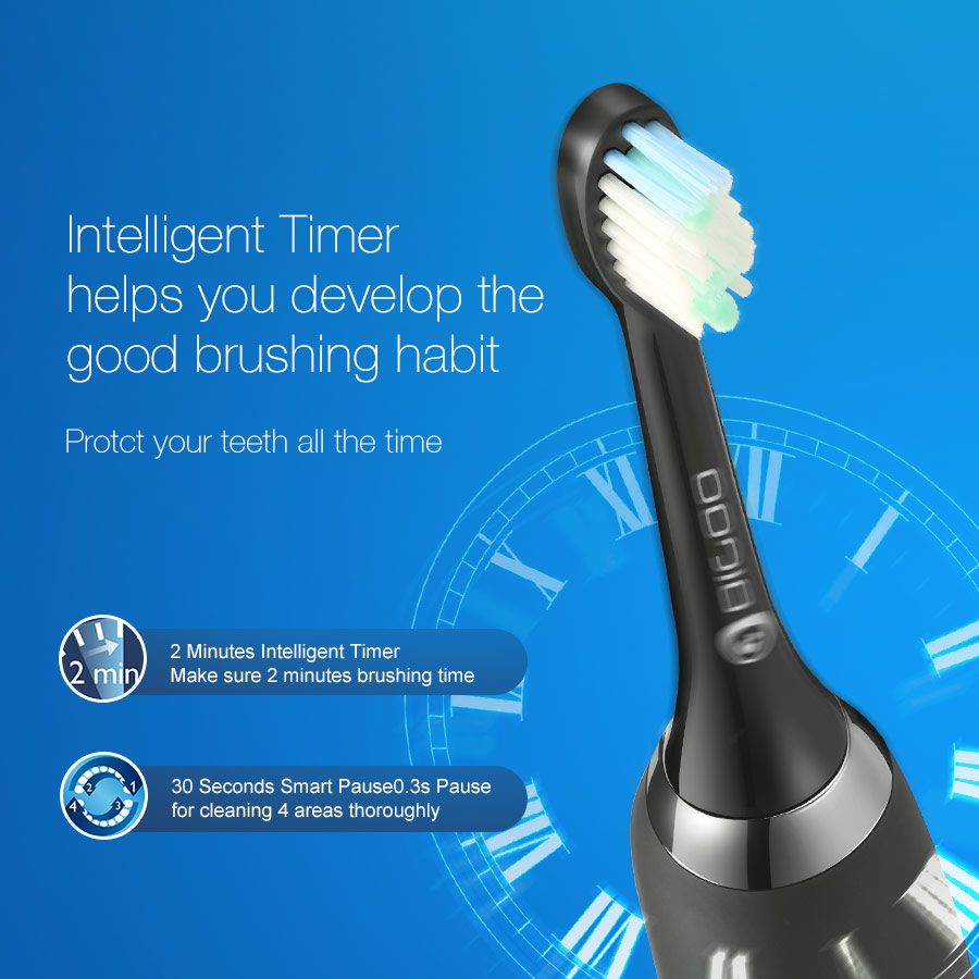 Review of Digoo electric toothbrush