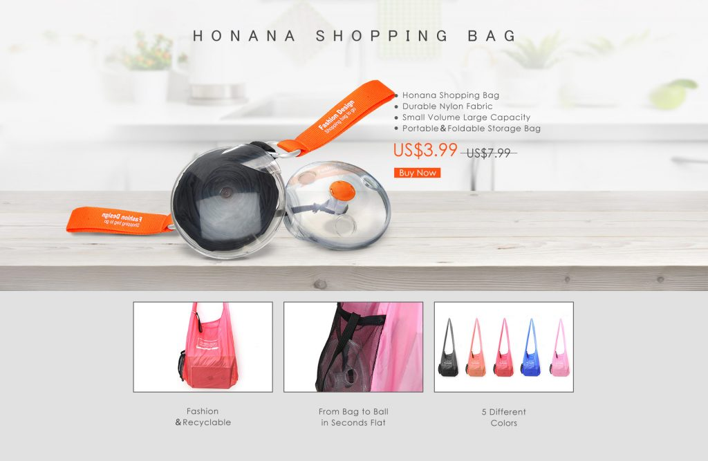Honana Shopping Bag
