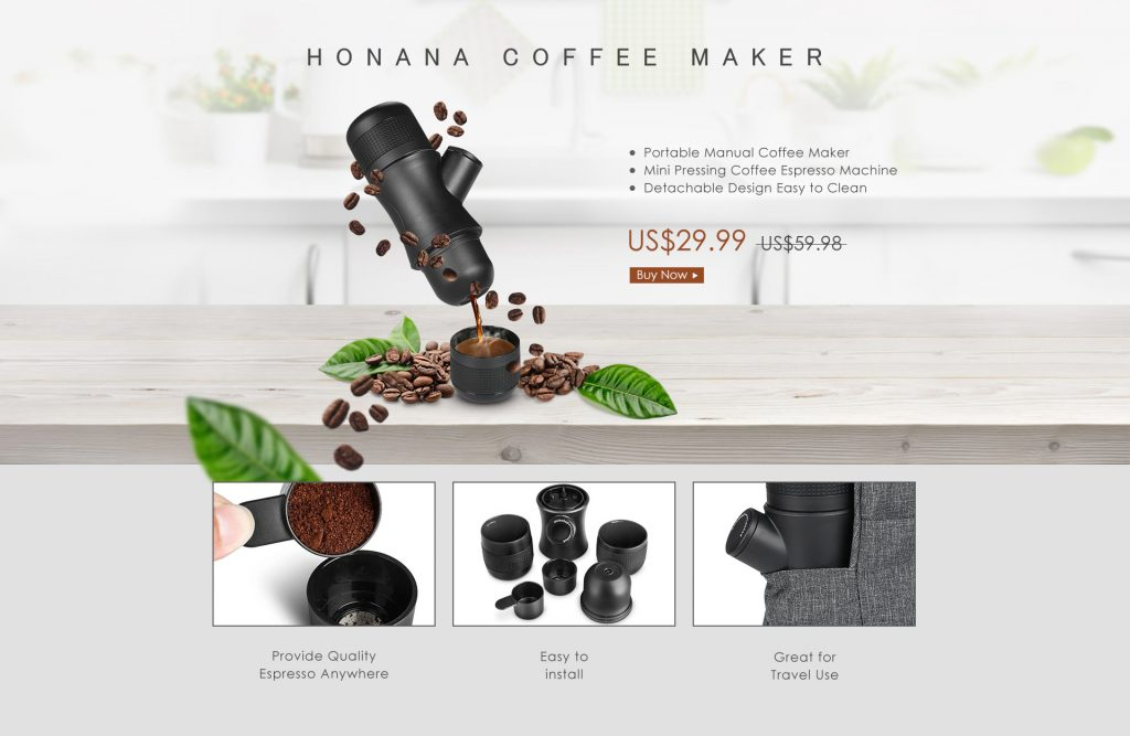 Honana Coffee Maker