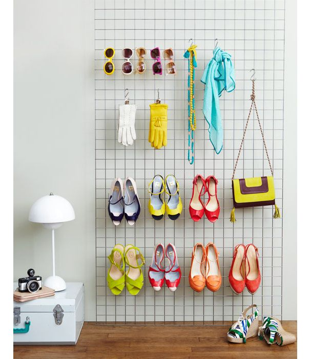 hanging shoe rack