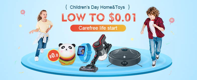 Banggood 2019 Children's Day Smart Home Toys Promotions