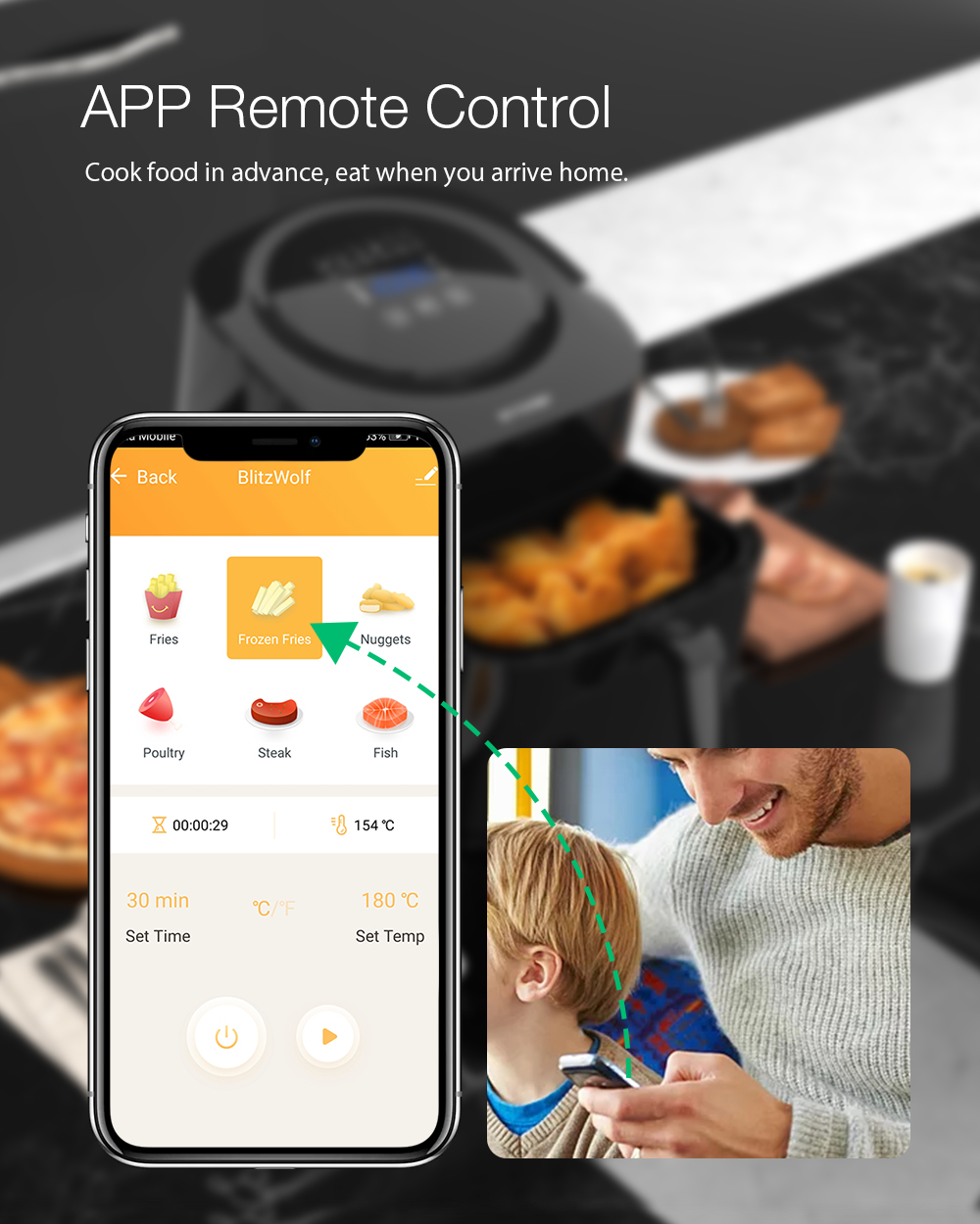 Blitzwolf bw-af1 smart air fryer