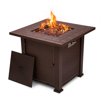Autumn Now! Let's Have a Garden Party with Topshak GF1 Fire Pit